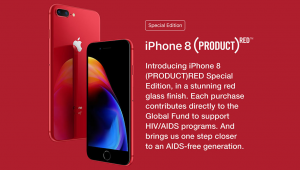 Introducing iPhone 8 Red