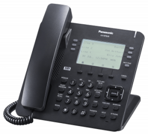 business telephone system: panasonic KX-NT630